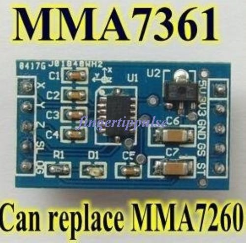 2pcs Arduino MMA7361 ( replace MMA7260 ) Accelerometer Sensor Module
