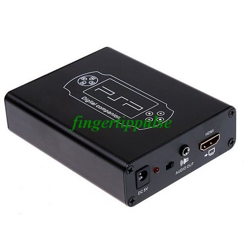 PSP to HDMI HD Video Converter Full Screen Adapter 720P / 1080P