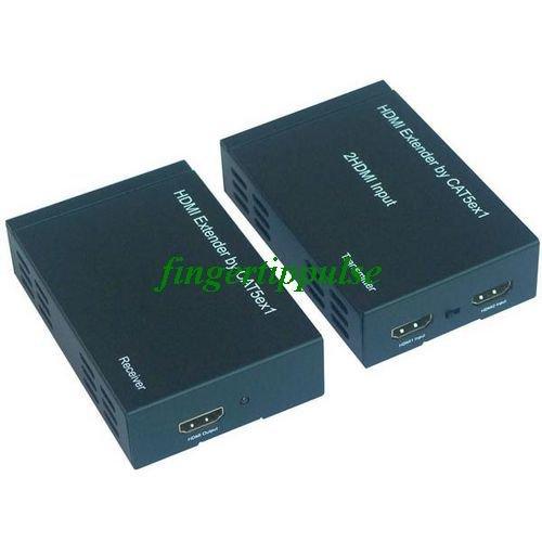 2x1 HDMI Extender By 1 LAN RJ45 Cat5E Cat6 50M 1080P