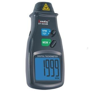 Digital Photo Non Contact Tachometer Laser-DT6234B