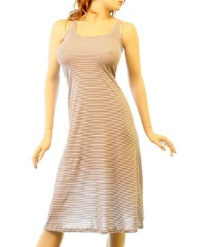 LAST ONE!! Striped Tank Semi Sheer Bathing Suit Cover Up Dress Fashion