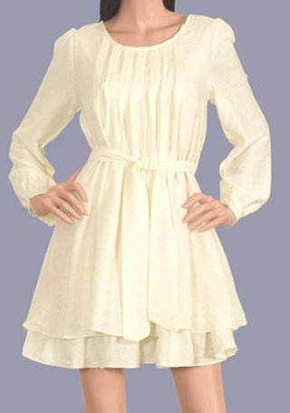 XT 10% OFF!! LAST ONE IN STOCK!! XT Shirred Layer Dress at Sears.com
