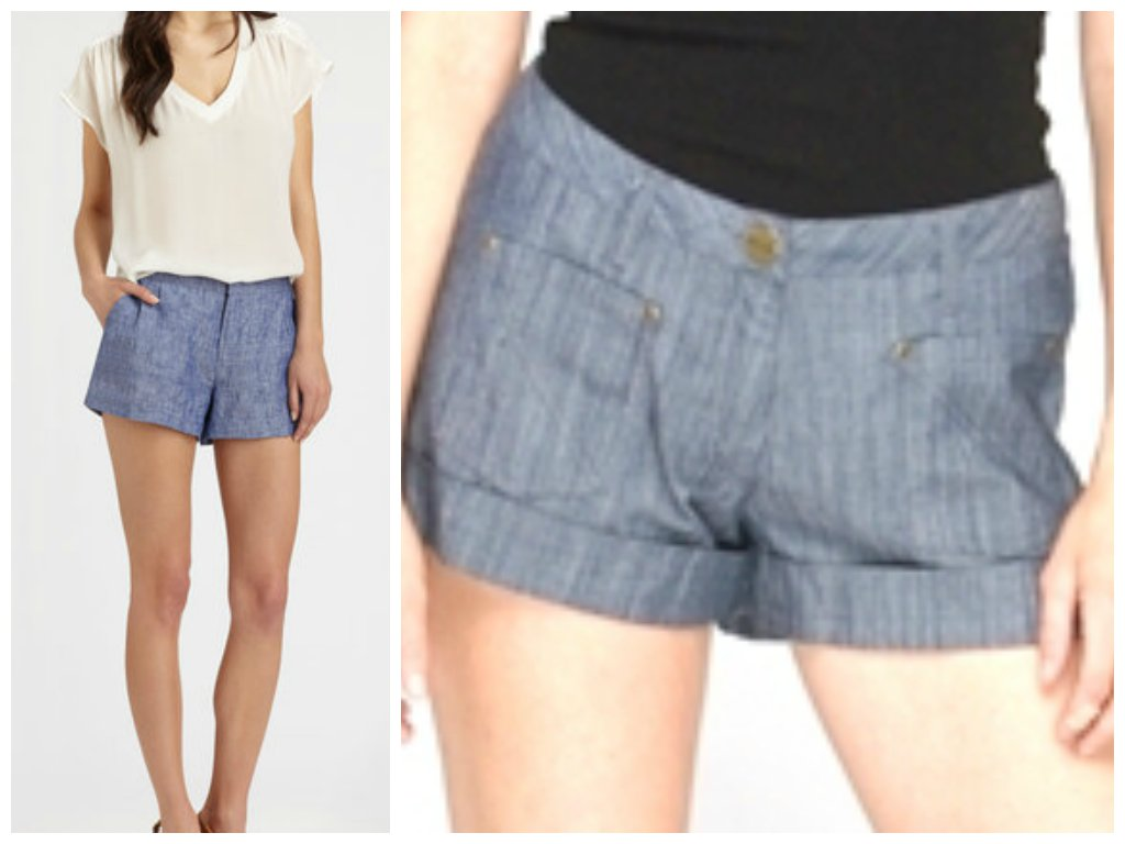 Tulle 4 Modcloth Anthropologie Boyfriend Twill Shorts at Sears.com