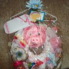 LAST ONE IN STOCK 39pc Kidz Couture Girl's Little Piggy Diaper Wreath