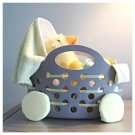 LAST ONE IN STOCK 20pc Kidz Couture Girl's Ducky Baby Carriage Gift Centerpiece