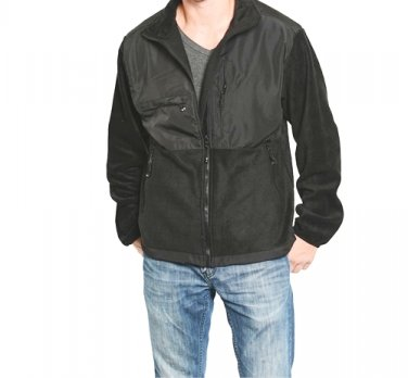 Men's Contrast Zip Up Jacket