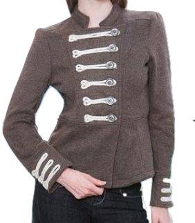 LAST ONE IN STOCK!! Sanjoy Gray MILITARY Cadet Blazer Jacket Coat $110