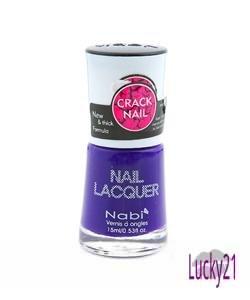 Nabi Crackle Shatter Purple Polish
