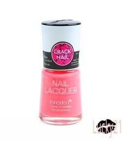 Nabi Crackle Shatter Spring Pink Polish