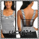 C.R. SWEETHEART CAGE BACK Top (large)