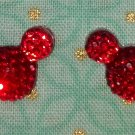Handmade Mouse Stud Earrings
