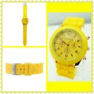 Cute Silicone Band Watch (yellow)