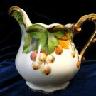Antique Flambeau Limoges Creamer Artist Signed