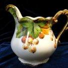 Antique Flambeau Limoges Creamer Artist Signed
