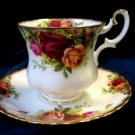 Royal Albert Old Country Roses Demitasse Cup Saucer Set