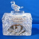Hofbauer Crystal Byrdes Bird Chest Trunk Box w Label