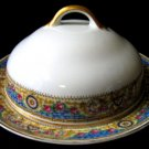 Antique Haviland GDA Limoges Covered Butter Dish