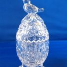 Hofbauer Crystal Byrdes Bird Footed Egg Trinket Box