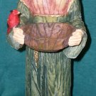 "17"" Saint St Francis and the Birds Statue Bath Feeder Yard Garden Decor NEW"