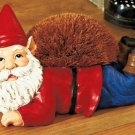 Gnome Shoe Boot Brush Sculpture Figure NEW