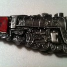 1978 bergamot brass works 1002 STEAM train belt buckle