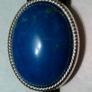 CHOICE OF 1 turqouise blue or 1 white howlite stone bolo tie FREE USA SHIPPING DANCE WESTERN