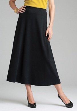 Long Black Skirt Plus Size 65