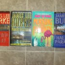 James Lee Burke Lot of 4 paperback Mystery novels pb books