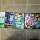 Nelson DeMille Lot of 5 pb Mystery Thriller novels books