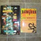 John Burdett Lot of 2 HC pb mystery novels books Bangkok 8 Haunts First Edition
