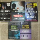 Robert Wilson Lot of 5 pb HC Mystery novels books Gold Daggar Winner