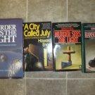 Howard Engel Lot of 4 pb HC mystery novels books Benny Cooperman