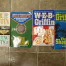WEB Griffin Lot of 4 pb thriller novels books W.E.B.