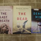 Denise Mina Lot of 4 pb HC mystery novels books British Hardboiled