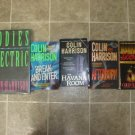 Collin Harrison Lot of 5 pb HC mystery novels books