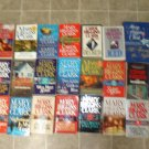 Mary Higgins Clark Lot of 23 pb hc Mystery novels Carol