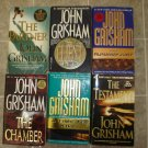 John Grisham Lot of 6 pb mystery legal thriller novels books