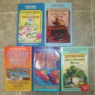 Kathy Hogan Trocheck lot of 7 pb mystery novels cozy Callahan Garrity