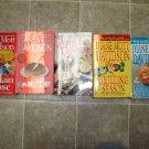 Diane Mott Davidson lot of 5 pb mystery novels books cozy culinary Goldie Schulz