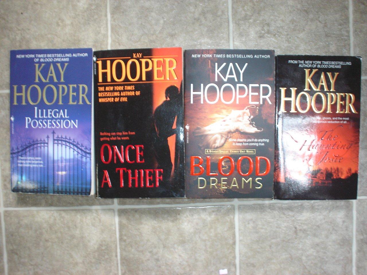 Kay Hooper lot of 6 pb mystery novels Romantic Suspense