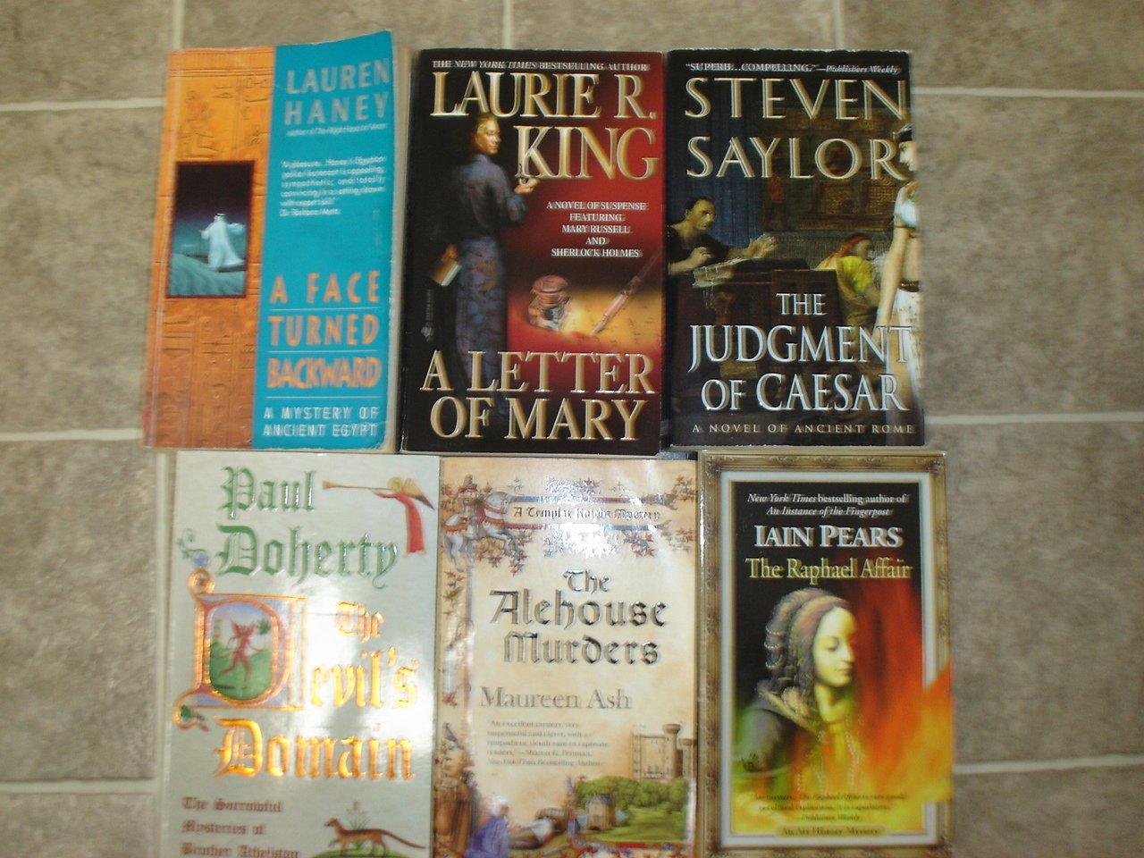 Make Your Own Historical Mystery sampler lot of 5 pb books