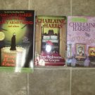 Charlaine Harris lot of 7 pb mystery books cozy Berkley Prime Crime