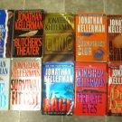 Jonathan Kellerman lot of 10 pb Mystery novels books Alex Delaware