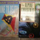 Mary Daheim lot of 4 pb mystery books cozy B&B Emma Lord