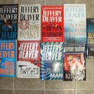Jeffery Deaver lot of 10 pb mystery novels books