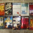 J.A. Jance lot of 10 pb mystery novels books JA