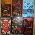 Wendy Corsi Staub lot of 6 pb books Romantic Suspense
