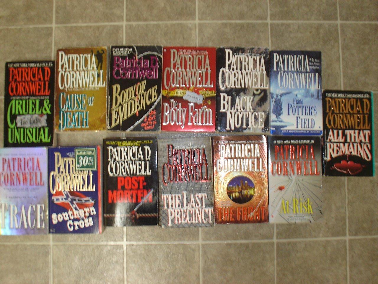 Patricia Cornwell lot of 13 pb mystery novels books Kay Scarpetta