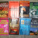 Women Authors Thriller Sampler lot of 8 Gardiner Brennan Brockmann Ellison Garwood Gaylin Robards