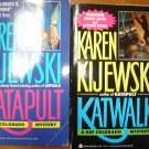 Karen Kijewski lot of 2 pb mystery books Kat Colorado